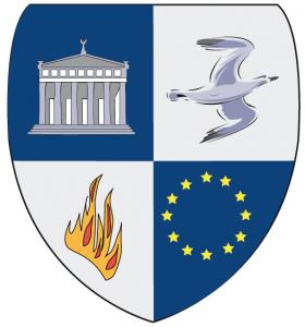 Logo schild Alba Academie