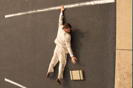 Symbool voor de juiste balans vinden in je loopbaan