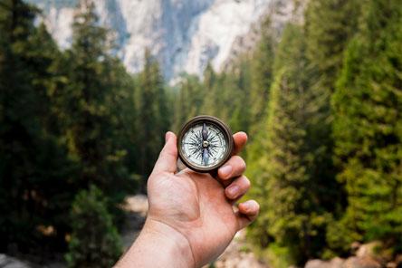 Het kompas wijst je de weg